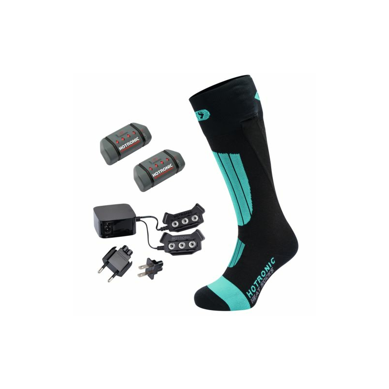 Hotronic BootDoc Heat Socks Set XLP One PFI 30 - Pearl Green beheizbare Socken mit Akku