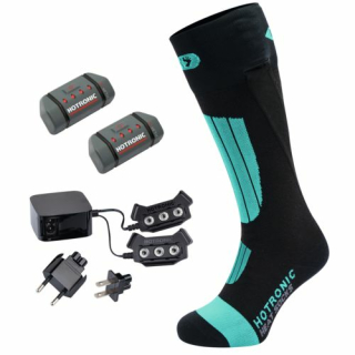 Hotronic BootDoc Heat Socks Set XLP One PFI 30 - Pearl Green beheizbare Socken mit Akku
