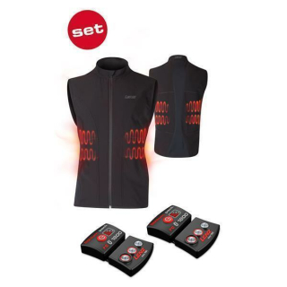 Lenz Herren Heizweste Lithium Pack RCB 1800 Set of Heat Vest 1.0 Mann, Schwarz