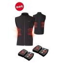 Lenz Herren Heizweste Lithium Pack RCB 1800 Set of Heat...
